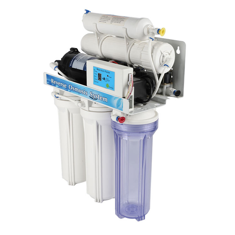 High quality 5 stage high flow reverse osmosis home RO water filter purifier with inner tank