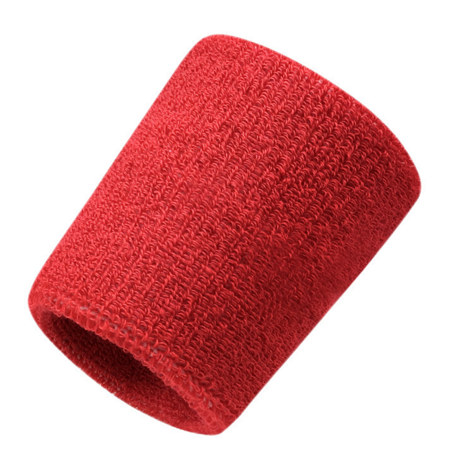 Customized breathable towel soft wiping sweating baseball tennis gym wrist straps