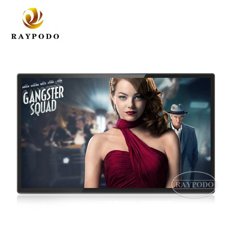 Raypodo Industriële Grote Android Tablet 24 inch 27 inch Waterdichte Android Tablet PC met VESA wall mount