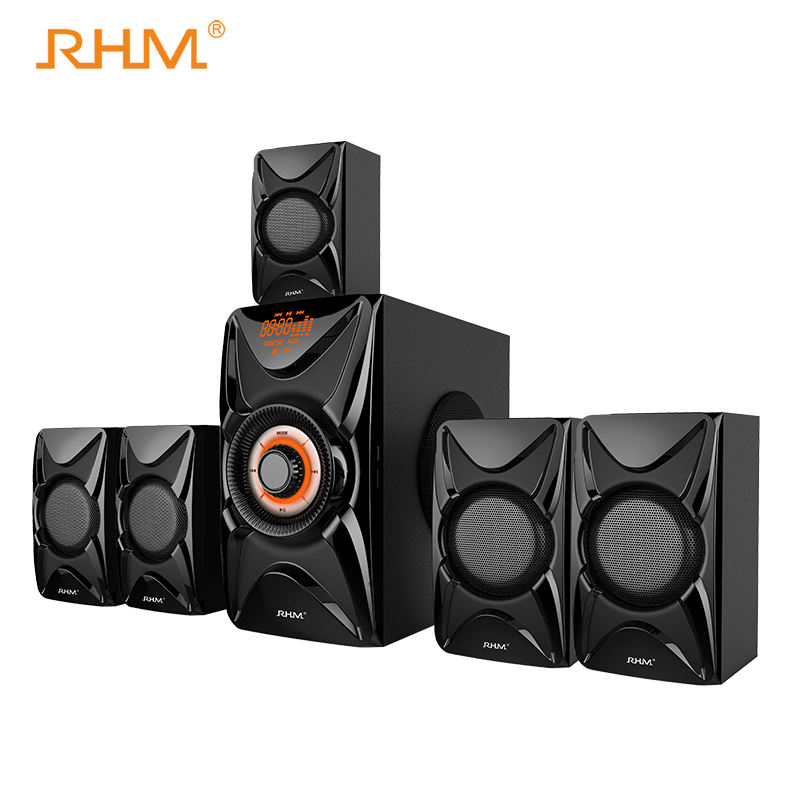 Orange Sound 5.1 Channel Surround Sound Bluetooth Speaker 40Watt Subwoofer Speaker System