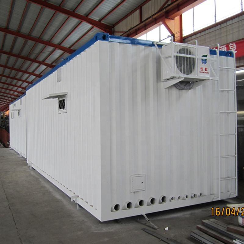 China 20/40 ft container office price luxury container house