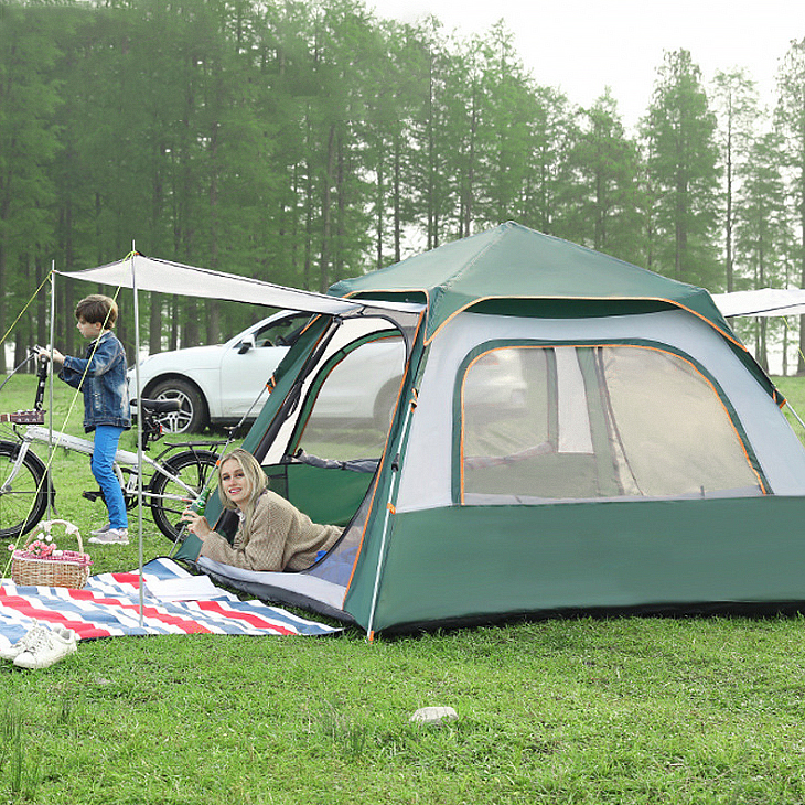 Ultralight Stretch Familie Tuinhuisje Hard Shell Roof Top Event Indoor <span class=keywords><strong>Outdoor</strong></span> Glamping Camping Tent