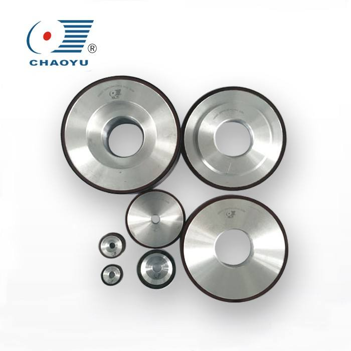resin Bond Glass Cup Diamond Grinding Wheel For cutting tungsten Carbide