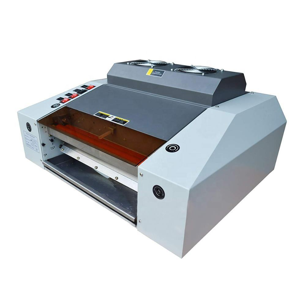 H335E 13inch Tafelblad 320mm A3 Fotopapier UV Vloeibare Coating lamineren Machine