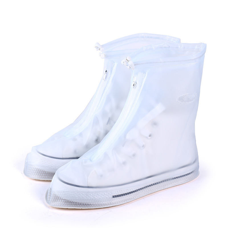 High Quality Rain Waterproof Boots Thicker Non-slip Waterproofr Heels Boots Men Women's Reusable raincoat