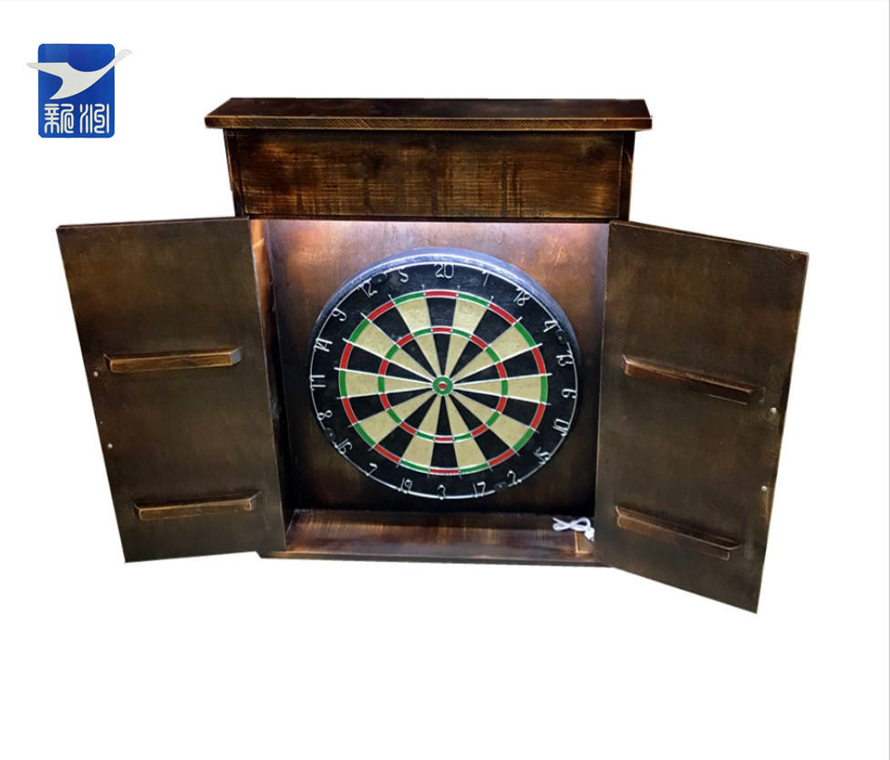 Dartboard Wholesale 18 Lnch Custom Logo Cheap Price Sisal Bristle Dartboard With Color Box
