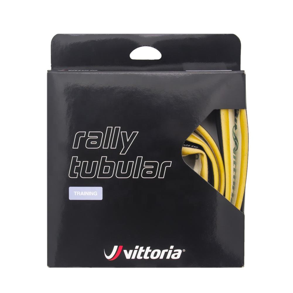 Vittoria Rally Tubular Tire 700c x 25mm Black Para 220TPI Training Road Race