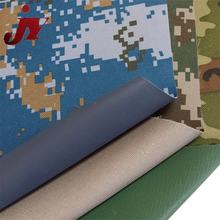 Factory Wholesale 600D Camouflage Polyester Waterproof Army Tent Material Fabric