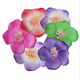 EVA artificial lotus flower for hair hat clothes decor