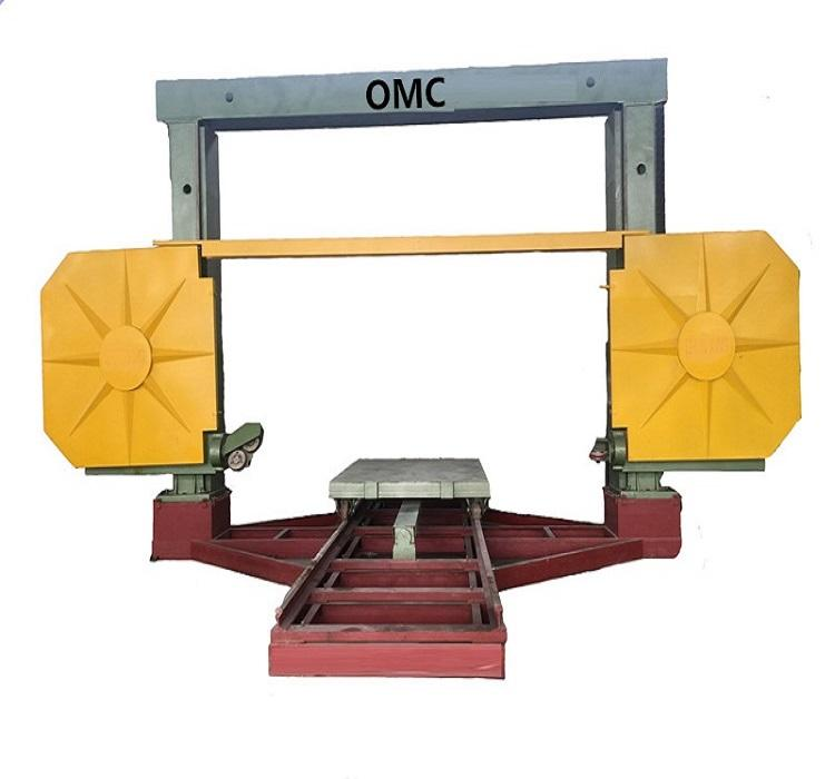 CNC diamond wire stone saw machine for cutting marble and granite