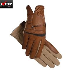 Horse Ridergloves Leather Equestrian SportsGloves high Quality Customized Racing Safety Equestrian rider gloves AM697