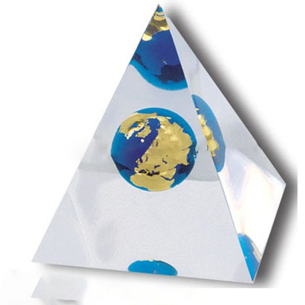 Global Gifts-Lucite Pyramids