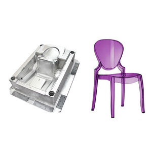 Cnc hand operated injection machine plastic chairs molding mould
