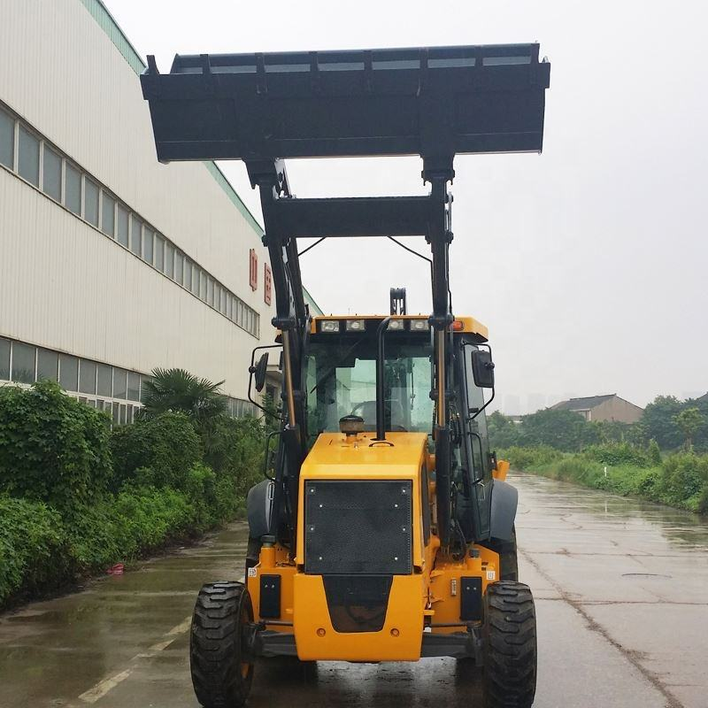 630A 4Wd Backhoe Loader In Kenya 4*4 changlin