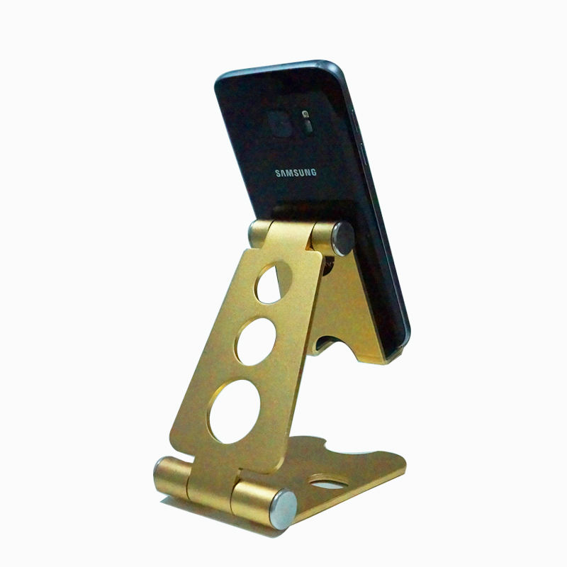 Universal Aluminium Mobile Phone Holder Bed Office Desk Table Holder for Phone Tablet Mount Stand
