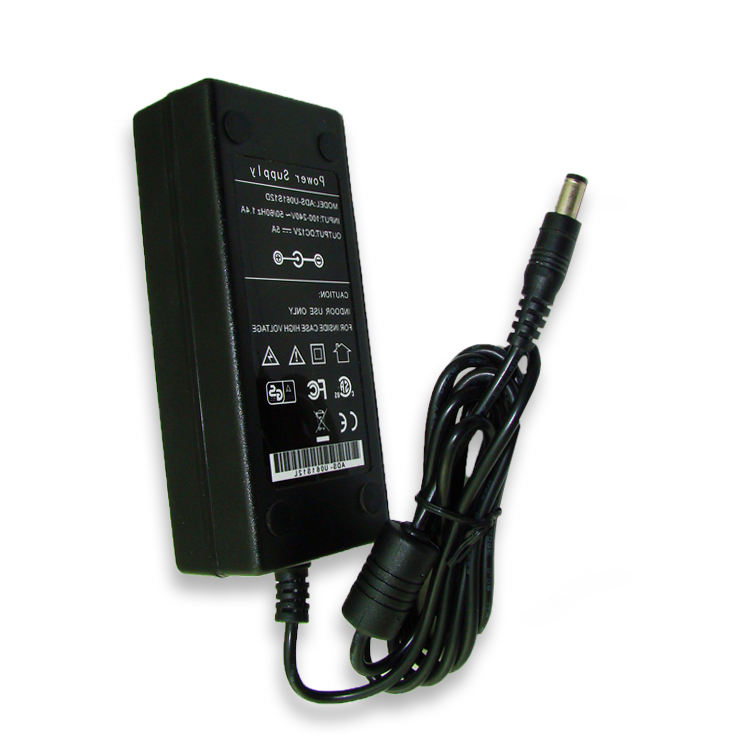 60W AC DC Notebook Desktop Power Adapter 12V 5A 24V2. 5A Power Supply DC Switching Adaptor