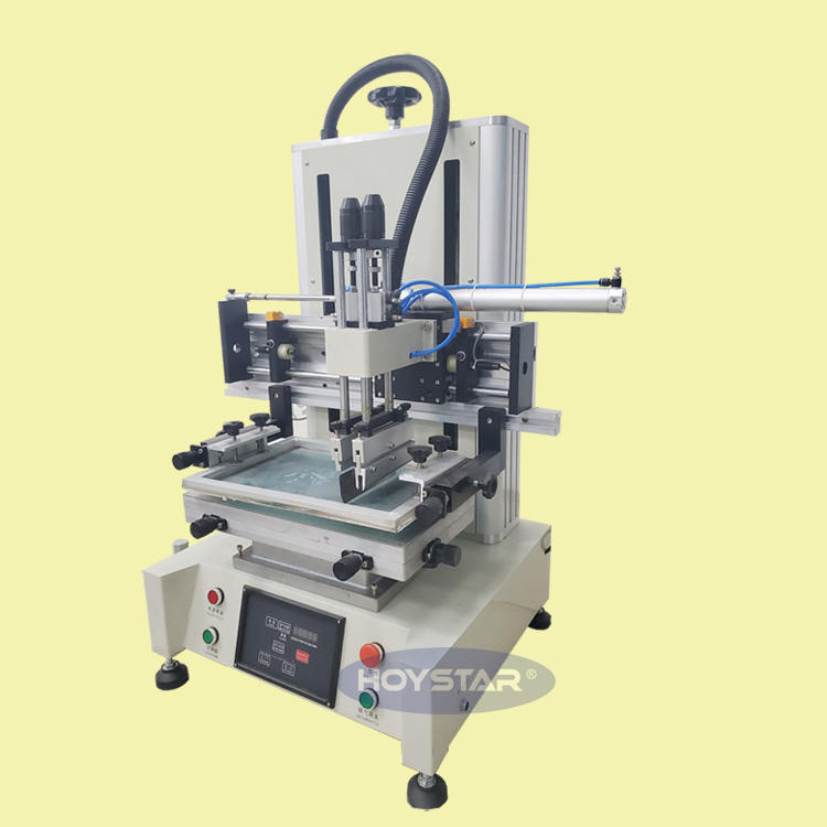 mini desktop screen printing machine for CD