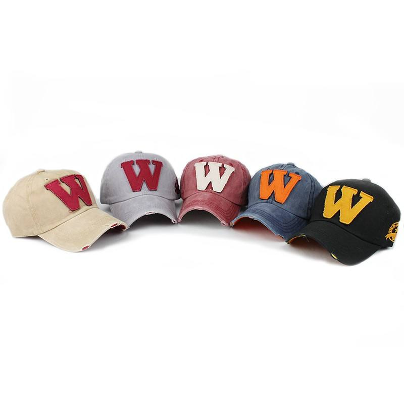 Wholesale washed cotton vintage english applique embroidered baseball cap men distressed dad hats