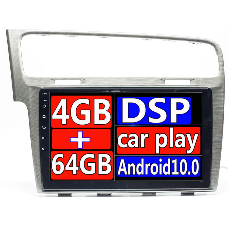 IPS DSP 4GB 64GB AutoRadio 1Din Android 9 Auto Multimedia-Player Für Volkswagen VW Golf 7 Stereo GPS Navigation kopf Einheit 8 Core