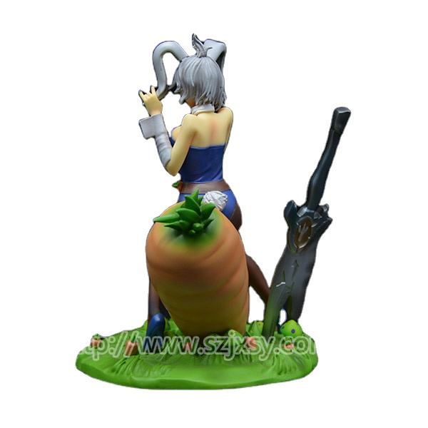 Japan Polyresin Nude Girl Figurine Hot Anime Action Figure Toy
