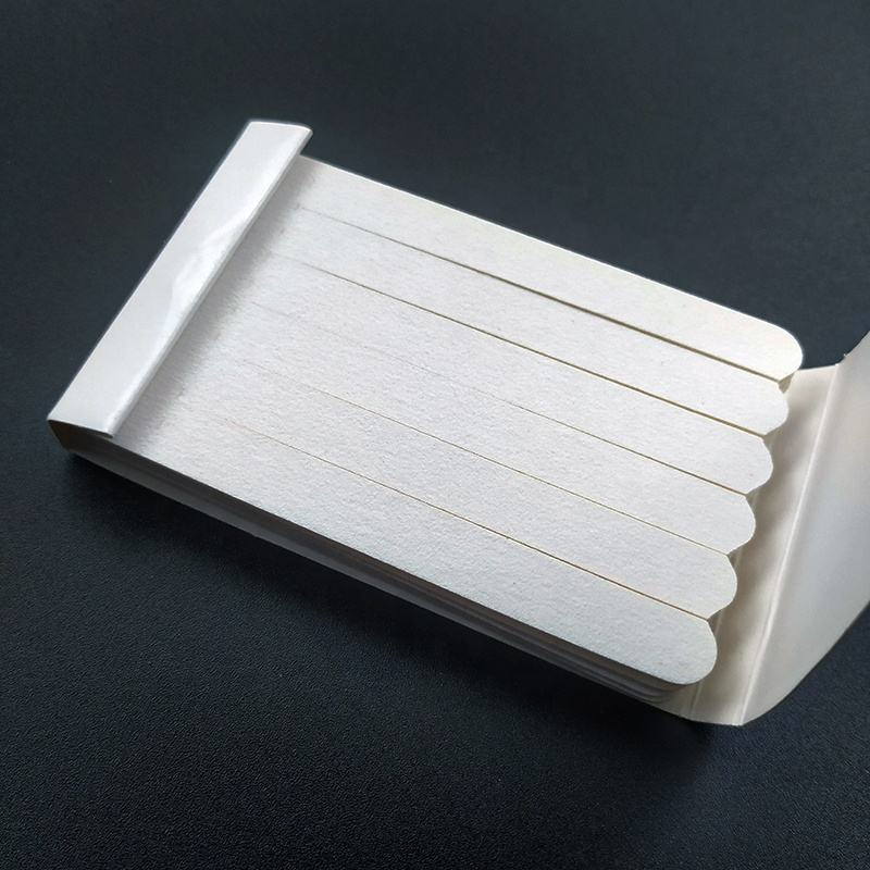 New product wooden disposable nail file mini nail file with match box