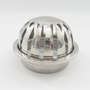 Balcony floor drain 304 stainless steel deodorant bell-type cover anti-blocking design fast drainage outdoor outdoor floor drain