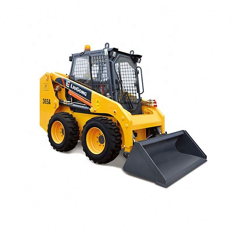 Liugong 800kg Hot Sale Mini Loader Wheel Skid Steer With Concrete Mixer 365B