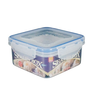 Airtight plastic food container tupper box