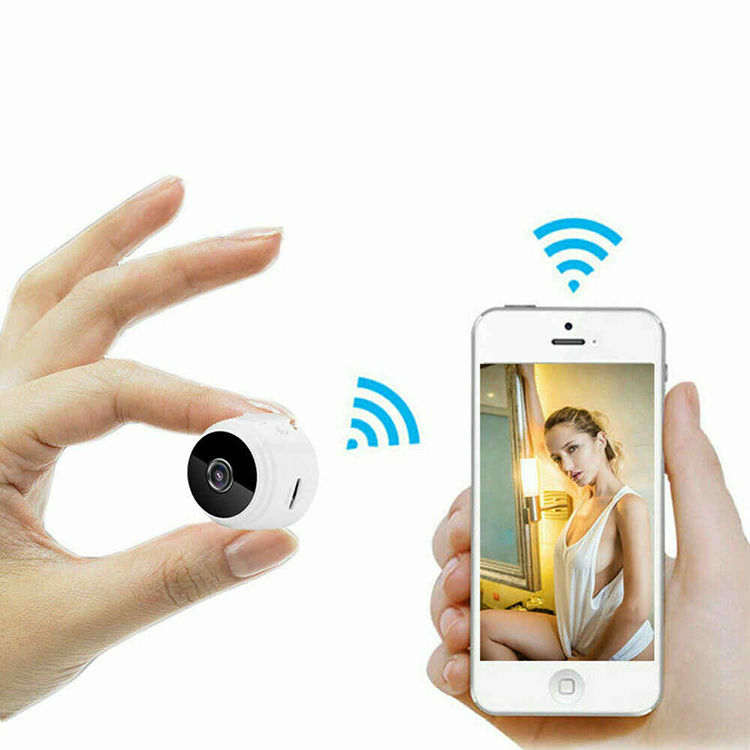 Hidden Infrared Night Vision Monitor Mini WIFI CCTV Camera HD 1080P IP Camera WIFI Spycam Camara Espia With Magnetic