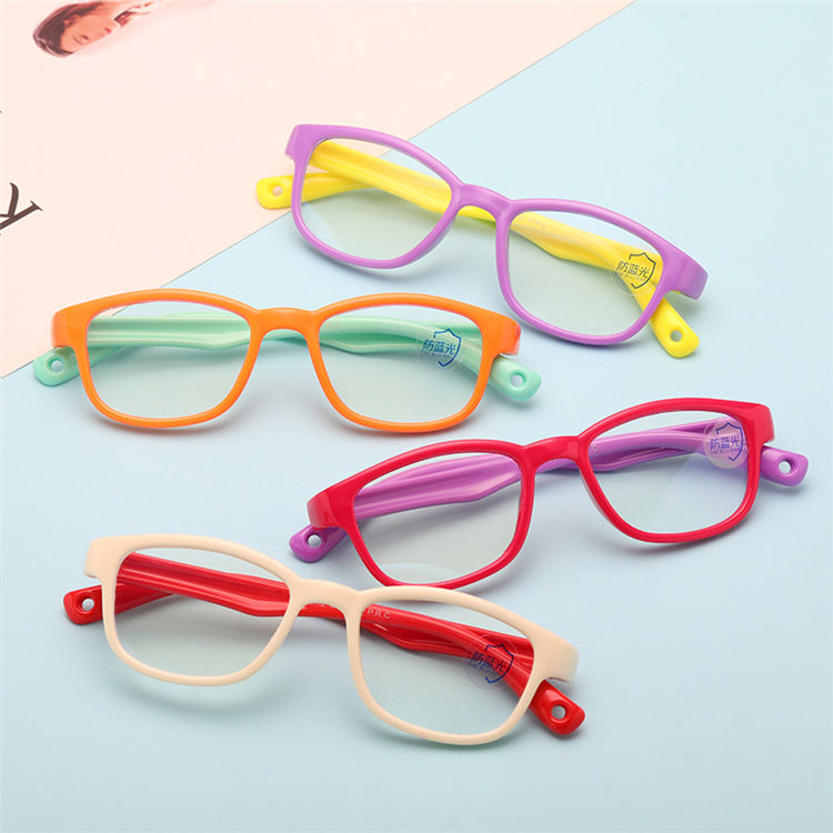 Factory Kids Classical Safety Frame Anti Blue Light Optical Glasses Eyeglasses