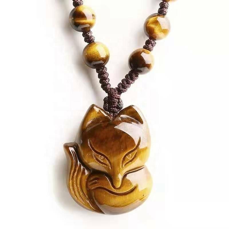 Pendant Crystal Stone Reiki Tumbles Tiger Eye Crystal Tiger Eye Tree Stone Crystal Craft for Jewelry Tiger Eye Loose Carved Cabochon