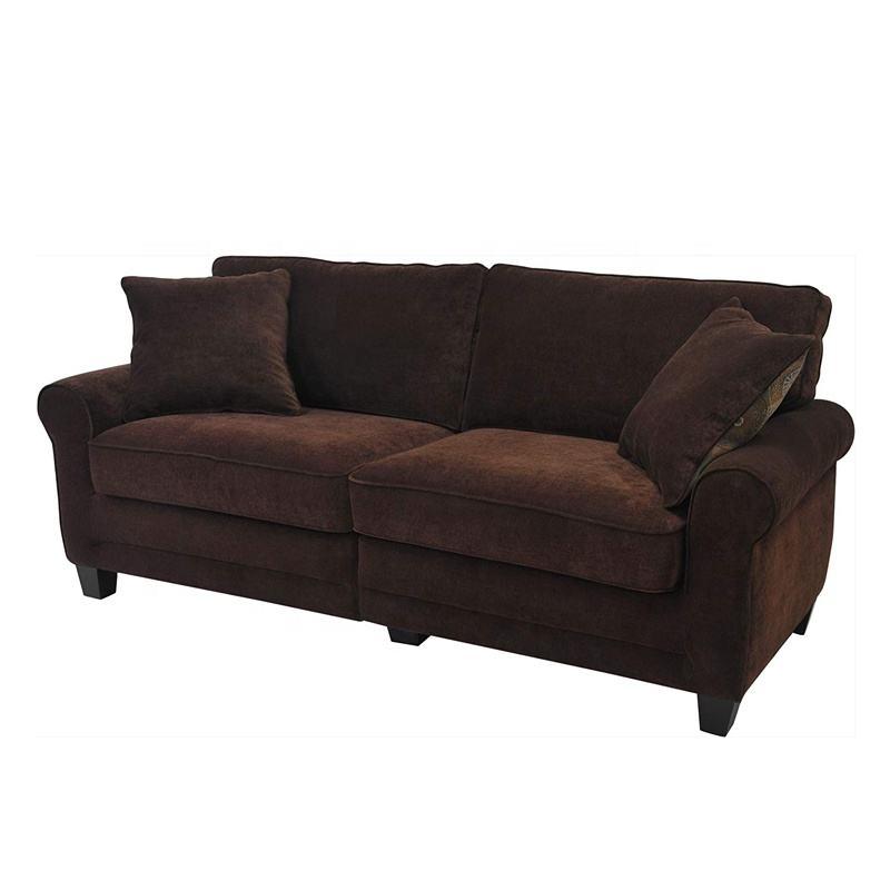 Clásico gusto sofá de terciopelo conjunto de estilo moderno sofá Reclinable