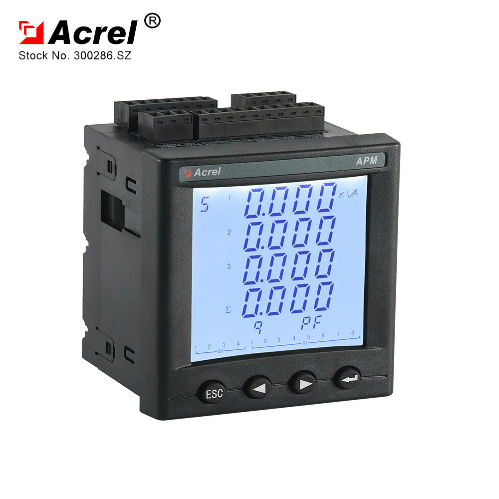 ACREL three phase multifunction power analyzer APM800 class 0.5S power meter with IEC certificate