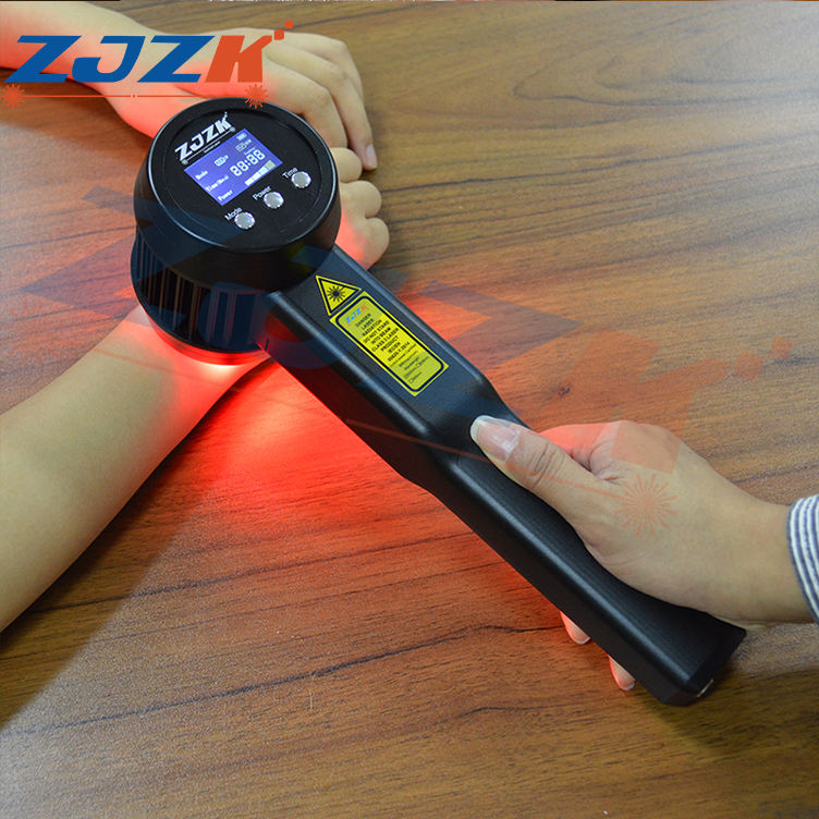 low-intensity laser therapy stimulates healing