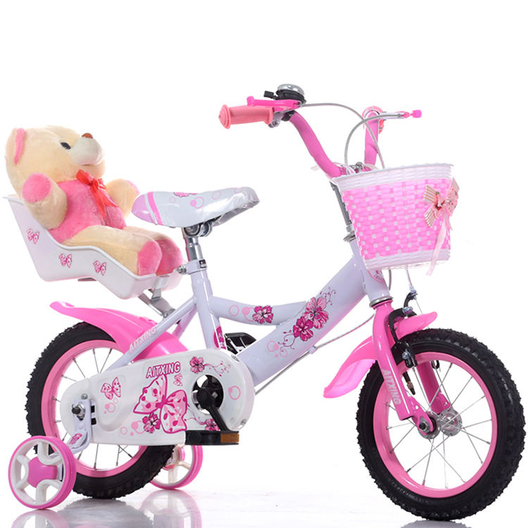 High steel frame kids girls cycle 12 14 16 18 inch children bicycle / New Model Unique Kids Bike / Baby Girl Cycle for children
