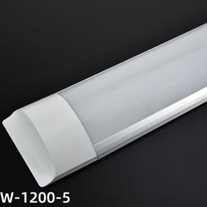 ETL DLC CE ROHS 18W 36w 1Ft 2Ft 3Ft 4Ft 5Ft Indoor Lighting Lamp Shop Linear Led Batten Light