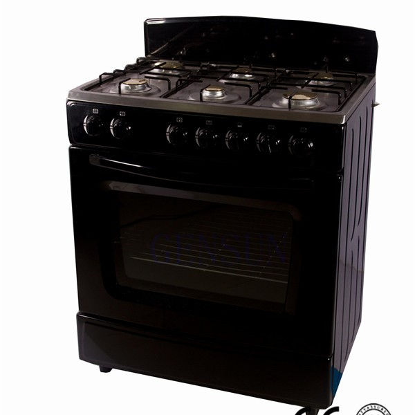 6 gas burner freestanding gas cooker with oven GS-K76B
