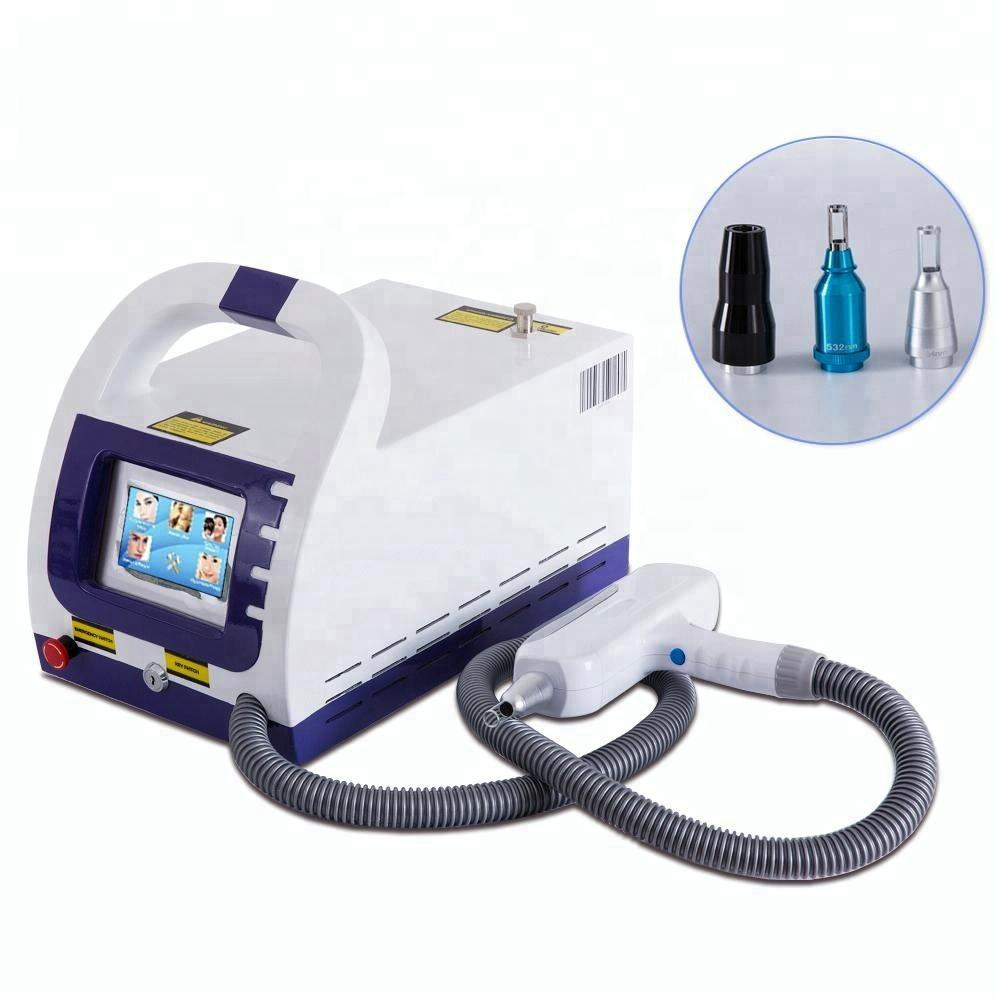 Q Switched Nd Yag Laser Machine 1064 Nm 532nm 1320nm Voor Tattoo Verwijderen Huidverstrakking Picosecond Laser Neatcell Touch Screen