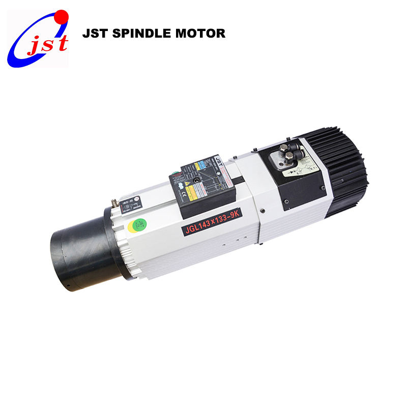 JGLF 9KW 12KW BT30 ISO30 ATC air cooling spindle motor auto cnc router machine for wood engraving milling machine
