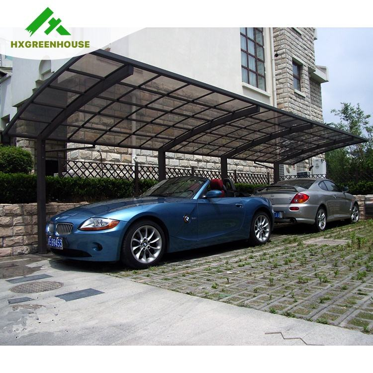 High quality 10 x 30 heavy duty strong wind resistant door used driveway gate canopy carports carport for sale