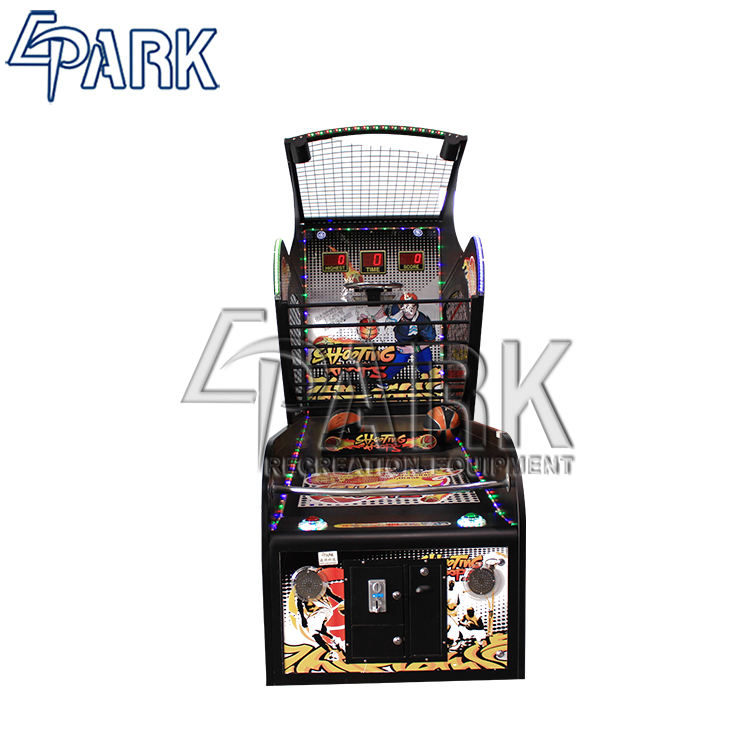 Carnival tournament game coin operated basketball game machine