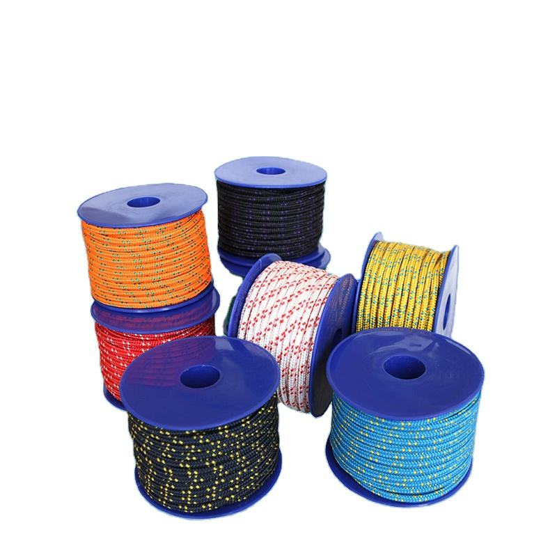 PP PE Nylon braided rope with high quality and good price made in ROPENET group