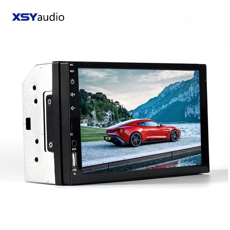 Supplier High Quality 2 din Mp5 player auto stereo 7 inch Wince car mp3 music player usb