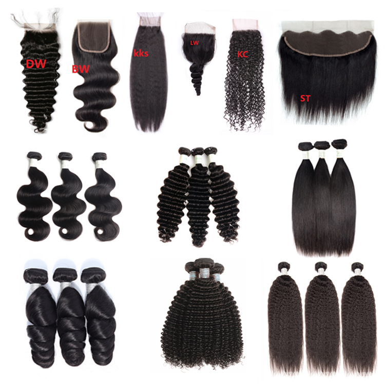Xuchang Hair Factory Directly Wholesale 10a Weave Brazilian Hair Bundles,Cuticle Aligned Virgin Hair Bundles With Closure