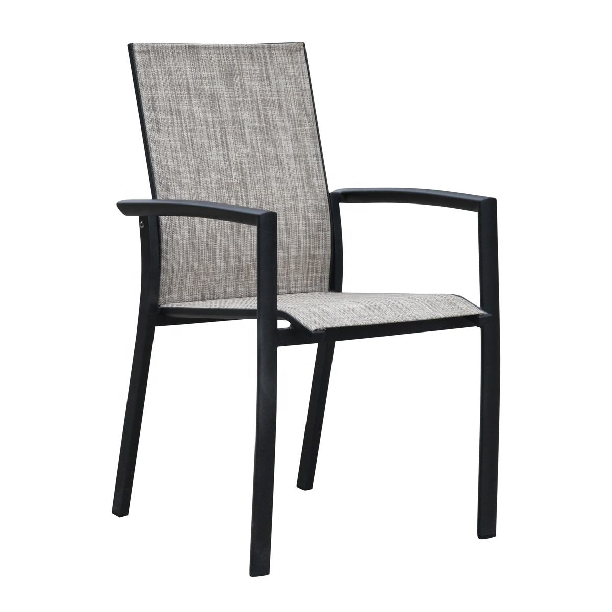 Aluminum Patio Outdoor Dining Acapulco Chair for Hotel