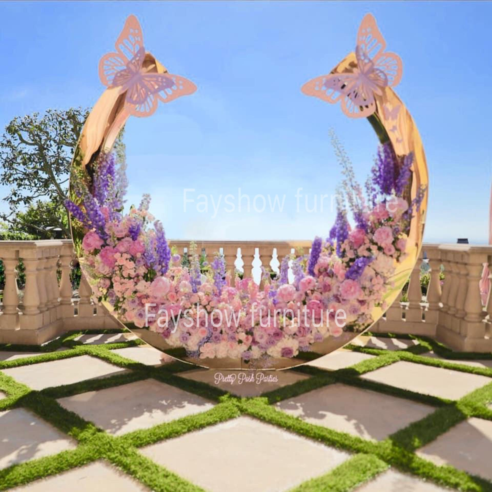 Modern wedding furniture wedding decoration flower stand