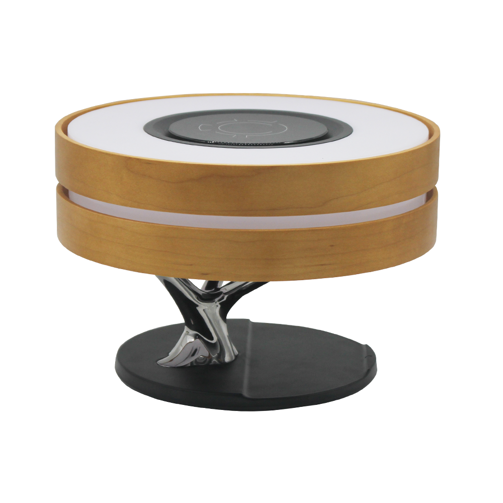 Modern New Round Luxury Tree Lamp LED Table Lamp with Wireless Charging and Speaker for Home Decorative