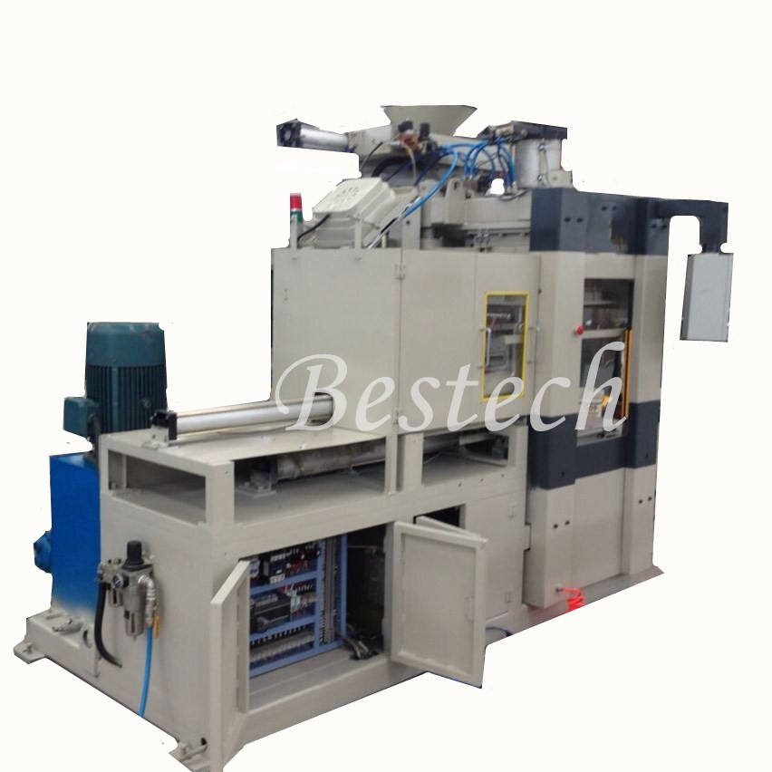 Automatic Flaskless Foundry Molding Machine For Aluminum Green Sand Moulding