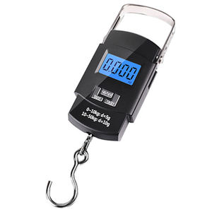 50kg/10g Weight Scale LCD Display Portable Electronic Travel Hanging Luggage Weight Machine