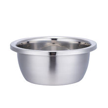 Wholesale tableware Stainless steel Mixing Bowl Set With cover For home restaurant hotel